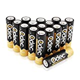 Odec AA Piles Rechargeables 2450 mAh, Accus 1,2V Ni-MH, 1200 cycles de charge, lot de 16