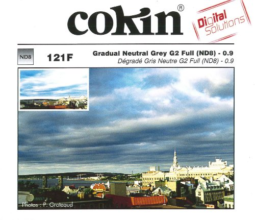 Cokin A121F Verlauffilter 2 (ND8) grau