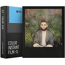 Impossible 4515Color película instantánea para cámaras Polaroid 6008fotografías con marco de color negro