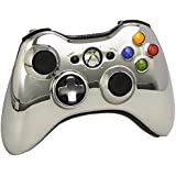 Xbox 360 Wireless Controller mit umschaltbarem D-Pad, chromsilber (Limited Edition)