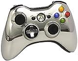 Xbox 360 Wireless Controller mit umschaltbarem D-Pad, chromsilber (Limited Edition)