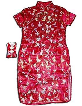 Cinda Le ragazze Raso Farfalla vestito Cinese