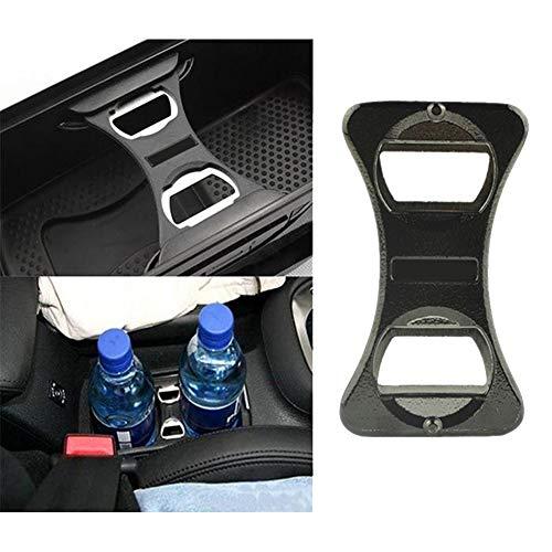 YSHtanj Auto-Flaschenöffner Innendekoration Flaschenöffner Auto KFZ Flaschenöffner für Volkswagen Golf 6 Jetta MK5 MK6 GTI Scirocco - Schwarz