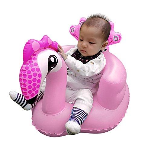 Comaie® Baby Safe Sitz Schritt eine Learn To aufblasbare Neugeborene Toys & Bad Boot Kleinkind Sicherheit Multifunktional Sofa BB Abendessen Stuhl tragbar Hocker für - Kleinkinder Für Sicherheit Schritt-hocker
