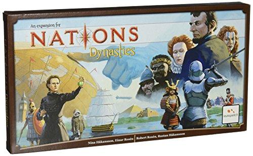 Asmodee editions Nations: Dynasties, la expansión del Juego Dynasties,, Marca