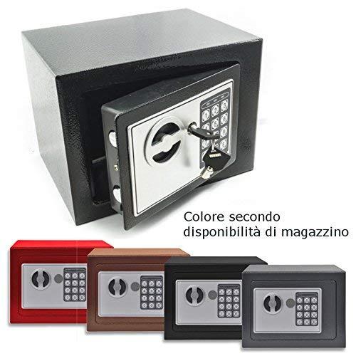 Dobo - Caja Fuerte de Pared empotrable con Teclado Digital de Hierro...
