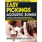 Die besten Acoustic Songs - Easy Pickings: Acoustic Songs. Für Gitarre, Gitarrentabulatur Bewertungen