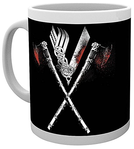 GB Eye, Vikings, Axe, Taza
