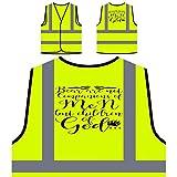 Bear Not Companions of Men But Children of God Veste de Protection Jaune personnalisée à Haute visibilité gg156v