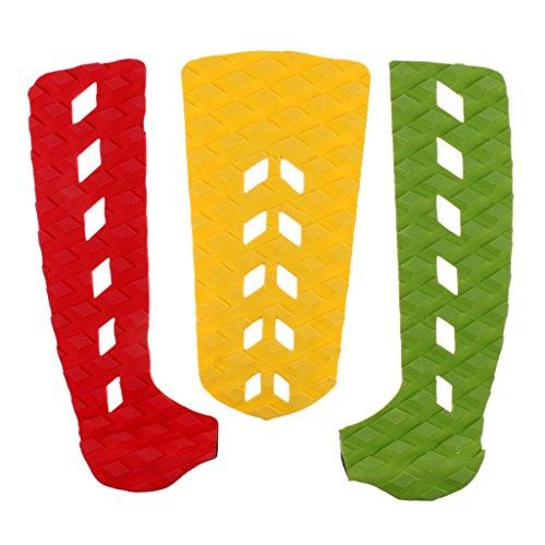Unbekannt 3er Set Traction Pad Anti-Rutsch Matte Deck Grip Footpad Für Shortboard Skimboard