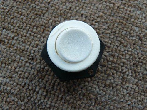 Einbauschalter weiß für Kaffeemaschine, Tischleuchten