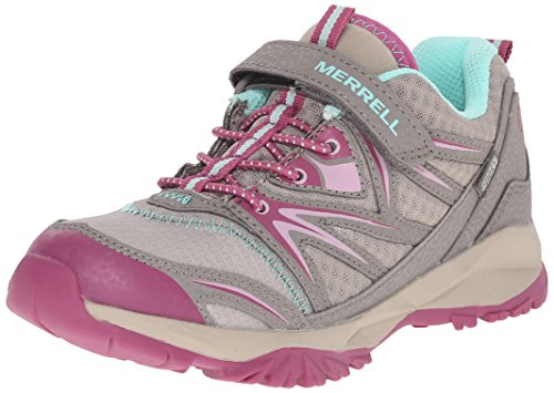 Merrell Capra Bolt Alternative Closure Waterproof, Chaussures de Randonnée Basses Fille Multicolore (Tau/By)
