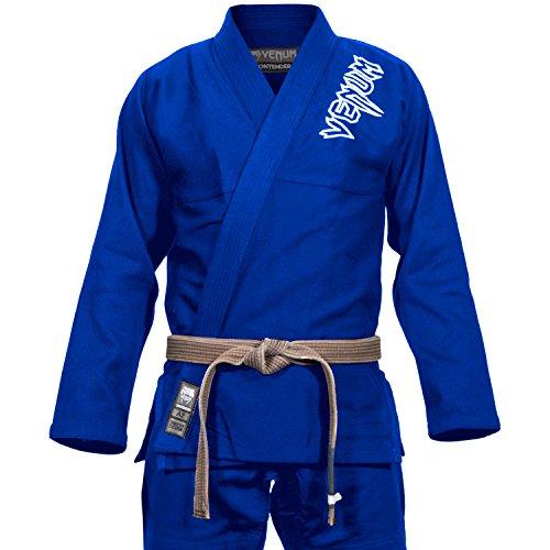 Venum Contender 2.0 Kimono BJJ GI, Unisex Adulto, Azul, A3