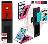 reboon Hülle für Vernee Apollo Lite Tasche Cover Case Bumper | Pink | Testsieger