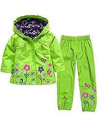 f7bc97e66 Amazon.co.uk  Green - Raincoats   Snow   Rainwear  Clothing