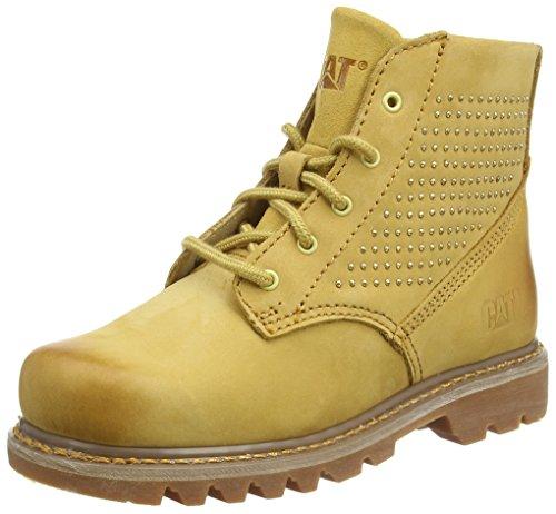 CaterpillarPixel - Stivaletti alla caviglia, imbottitura leggera donna , Giallo (Yellow (Honey Reset)), 38