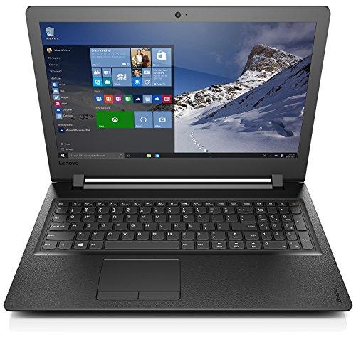 Lenovo ideapad 110-15ISK Notebook, Display 15.6 HD, Processore Intel I3-6006U, RAM 4 GB, Storage 500 GB HDD, Grafica Condivisa, Windows 10, Nero, 80XH0038IX