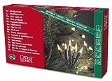 Weihnachtsbaum Mini Lichterkette Konstsmide 100 Lichter klar/grün inne