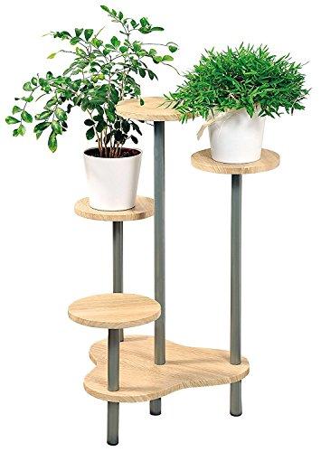 UrbanDesign MQ Blumentreppe Etagere Pflanzentreppe Pflanzenbank Holz