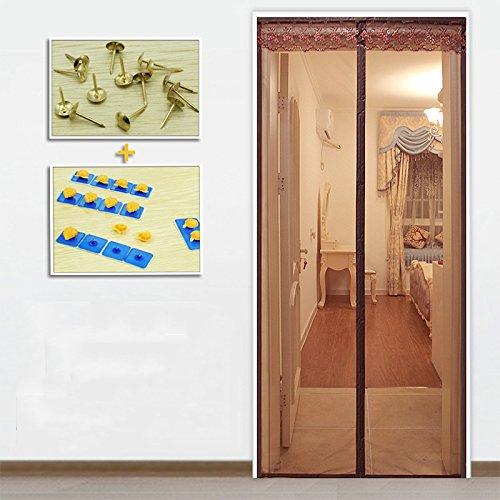 Anti - moskito - magnetische Fliegengitter für Fenster, Sommer der weiche Tür - Fenster - vorhang, wohnzimmer, schlafzimmer,-G-85x200cm(33x79inch)