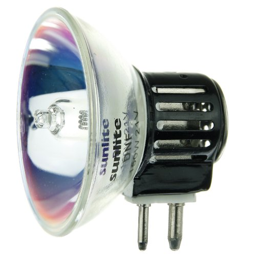Sunlite DNF 150W/MR16/21V/CL/GX7.9150-watt 21-volt Doppelpin basierend Stage und Studio MR16Glühbirne, klar, -