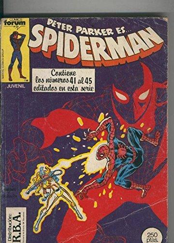 Spiderman volumen 1 retapado 041 al 045