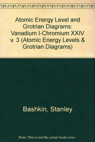 Atomic Energy Level and Grotrian Diagrams III (Atomic Energy Levels & Grotrian Diagrams)