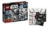 Lego Star Wars 75183 Darth Vader Transformation + 1 Star Wars: Rouge One Stickerbogen