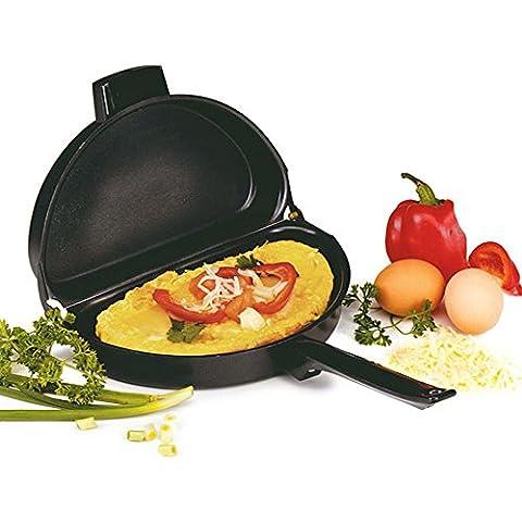 DecentGadget® Pieghevole Master Class induction-safe Padella antiaderente perfetta per friggere Uova Pentole Padella per omelette