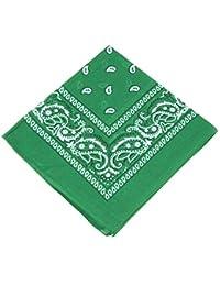 Boolavard Bandana Kopftuch Halstuch - gemustert: Paisley Muster - 100% Baumwolle!