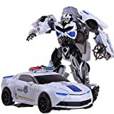 Generic Converting Car To Robot Transformer For Kids