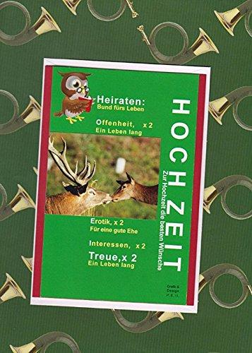 Handmadegruss Jagd Grußkarten