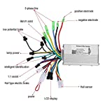 Tbest-Controller-Senza-spazzole-per-Controller-brushless-250W-350W-per-E-Bike-e-Scooter
