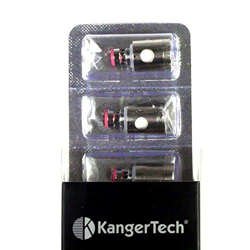 KangerTech SSOCC SS316 Verdampferkopf, 0.5 Ohm, 1er Pack (1 x 5 Stück)