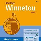 Winnetou 2 - 17:10 Stunden, ungekürzte Lesung auf 15 Audi-CDs + 2 MP3-CDs