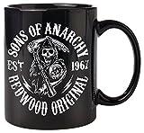 empireposter - Sons of Anarchy  - Redwood Original  - Größe (cm), ca. Ø8,5 H9,5cm - Lizenz...