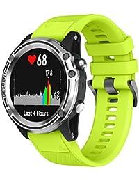 squarex - Correa de Repuesto para Reloj GPS Garmin Descent Mk1 e14f3563c96f