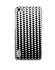 Pick Pattern Back Cover for Huawei Honor 6 (MATTE)