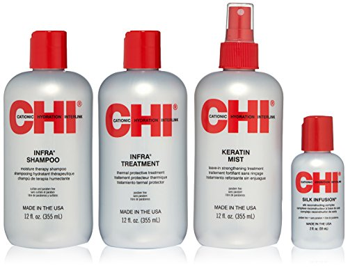 "CHI ""Infra\"" Home Stylist Kit 4"