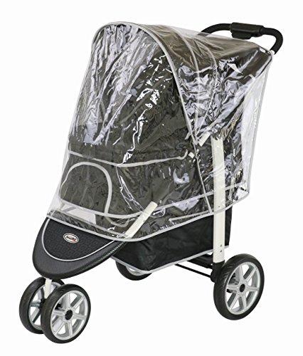 Innopet, Free Rain And Wind Cover, Monaco Stroller, Non Zipp Mesh Front Window Stroller 2