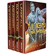 Alien Romance Box Set: Alien Former: Sci-Fi Alien Romance (Complete Series Box Set Books 1-4) (Alien Adventure Romance Bundle Book 3) (English Edition)