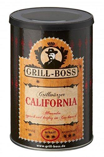 Preisvergleich Produktbild Grill Boss - California - kräftiges Grillgewürz,  250g