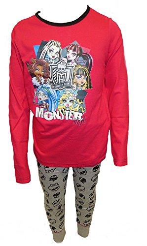 hen Schlafanzug Gr. 7-8 Jahre, Girls Gang (Monster High W)
