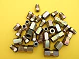 "3/16"" Copper Nickel/Copper Brake Pipe Fittings, Variety Pack of 35 pieces"