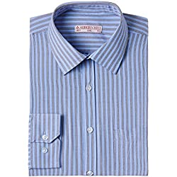 Auburn Hill Men's Formal Shirt (8907002749604_254733546_40_Blue)
