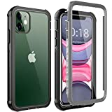 BESINPO iPhone 11 Hülle, iPhone XR Hülle, Stoßfest Transparent Hülle 360 Grad Rundumschutz mit...