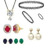 Jewels Galaxy Exclusive AAA Stone Circul...