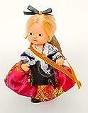 Folk Artesanía Vestido y complementos Regional típico Catalana muñeca Barriguitas de Famosa. Muñeca no incluida en el Lote.