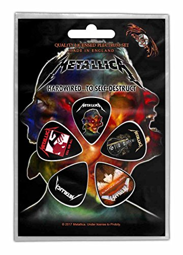 Metallica Hardwired To Self Destruct Plektrum - Pack Plektren
