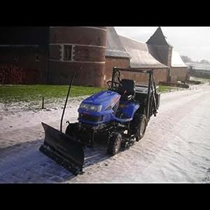 Lame Chasse-neige 118 cm pour Micro Tracteurs KUBOTA / ISEKI